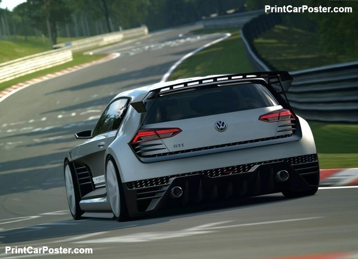 Volkswagen GTI Supersport Vision Gran Turismo Concept 2015 poster, #poster, #mousepad, #tshirt, #printcarposter