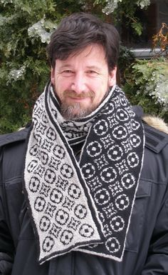 Free Pattern: High-end Scarf by Kathleen Sperling