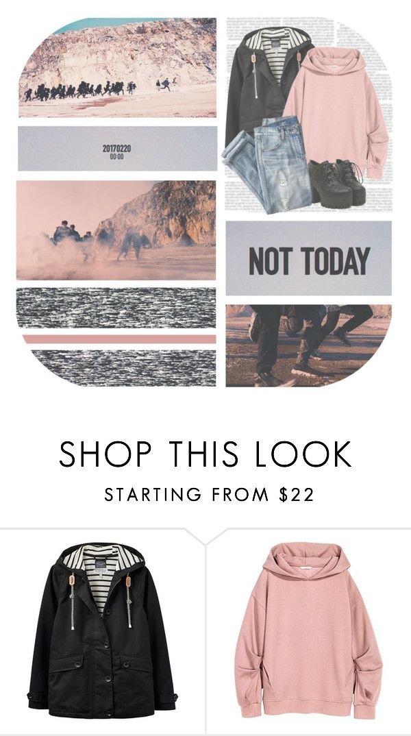 """Not Today X Fire--- BTS (김동우 Remix)"" by alicejean123 ❤ liked on Polyvore featuring Joules and J.Crew"
