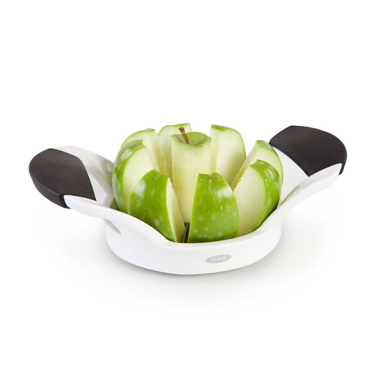 OXO Good Grips Apple Divider | Core and slice apples and pears with ease! #oxo #apples #slicer #kitchen