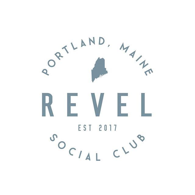 Laura Elyse Designs On Instagram What Do You Think Of This Custom Logo For Revel Social Club The Customer Want In 2020 Branding Design Logo Custom Logos Logo Design