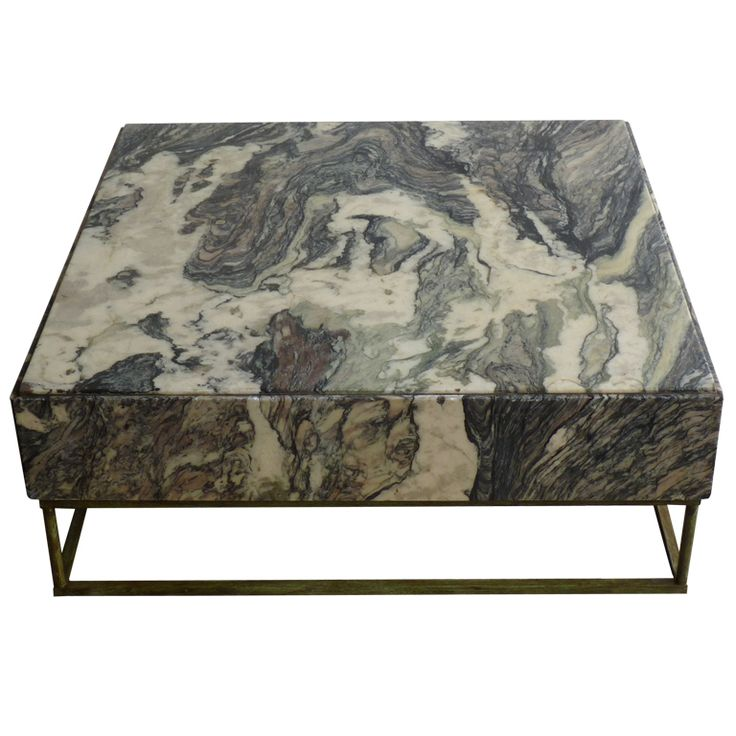 1940s Breche Marble Coffee Table