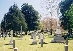 Maple Hill Cemetery Huntsville Alabama Front1.jpg