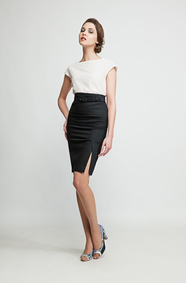 This lemon bias-cut summer skirt will compliment your waistline. Match it with one of our tops for a chic everyday look or wear it with a blazer and heels to look your best at the office. www.marimofashion.com