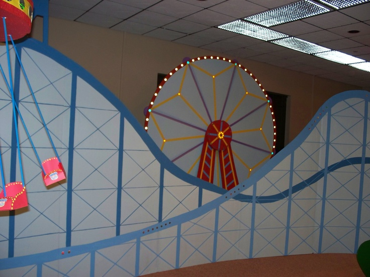 Roller coaster for auditorium...so cool!