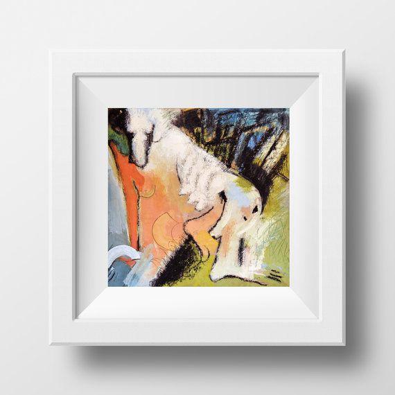 A season... 22 x 22 cm Instant Download Art Deco by olgutzashop
