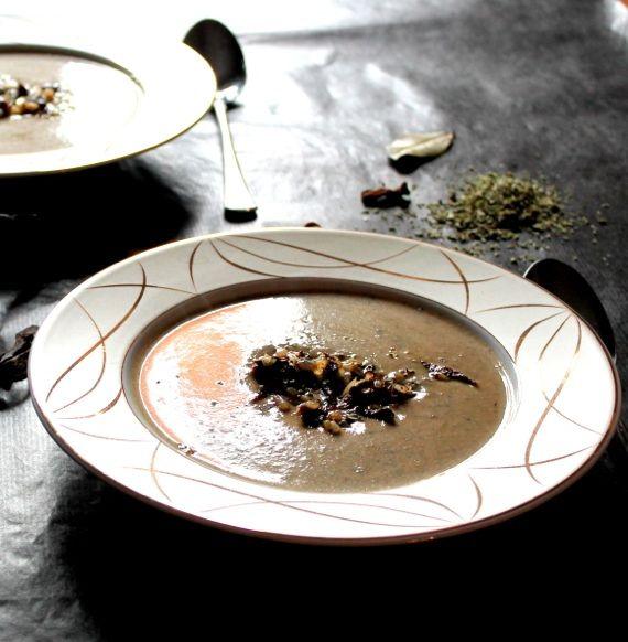 Wigilijna kremowa zupa grzybowa z suszonych grzybow,grzybowa | Blog kulinarny - codojedzenia.pl