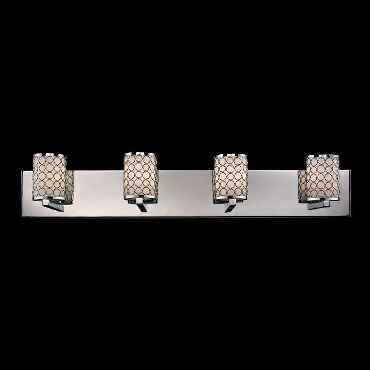 Lowes - Z-Lite 199-4V Synergy 4 Light Vanity Fixture, $278