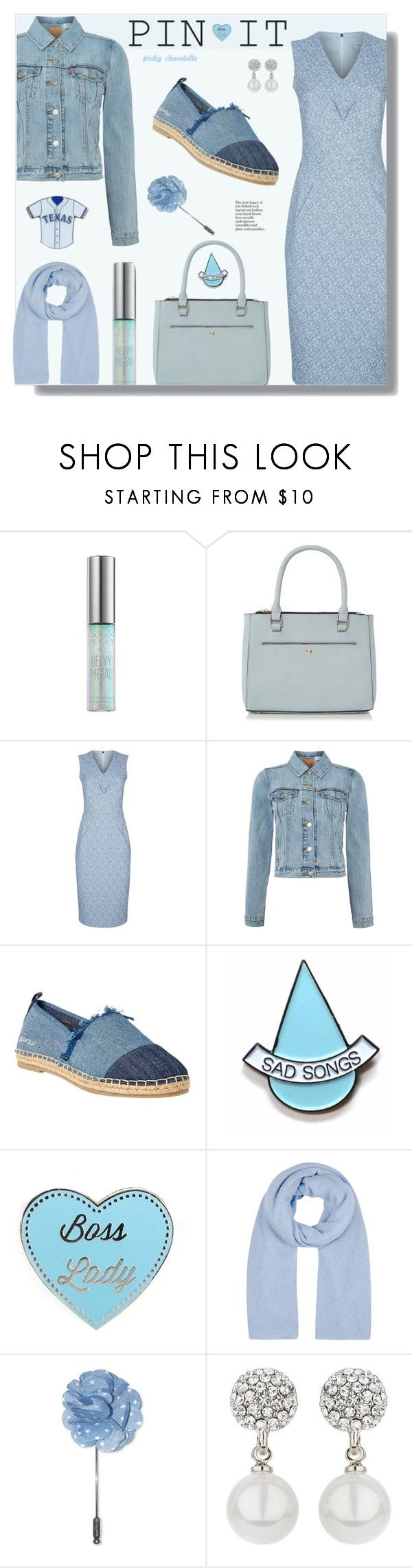 """""""Pastel Pin: 29/12/16"""" by pinky-chocolatte ❤ liked on Polyvore featuring Damsel in a Dress, Levi's, Seafolly, Stay Home Club, Winser London, Penguin, Mikey and aminco"""