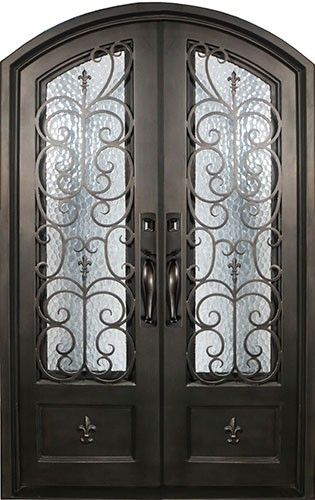 New Fleur De Lis Entry Door