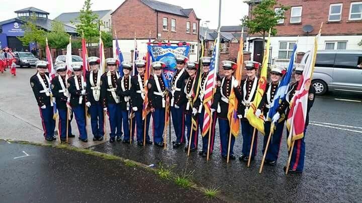 Mourne Young Defenders Flute Band Kilkeel