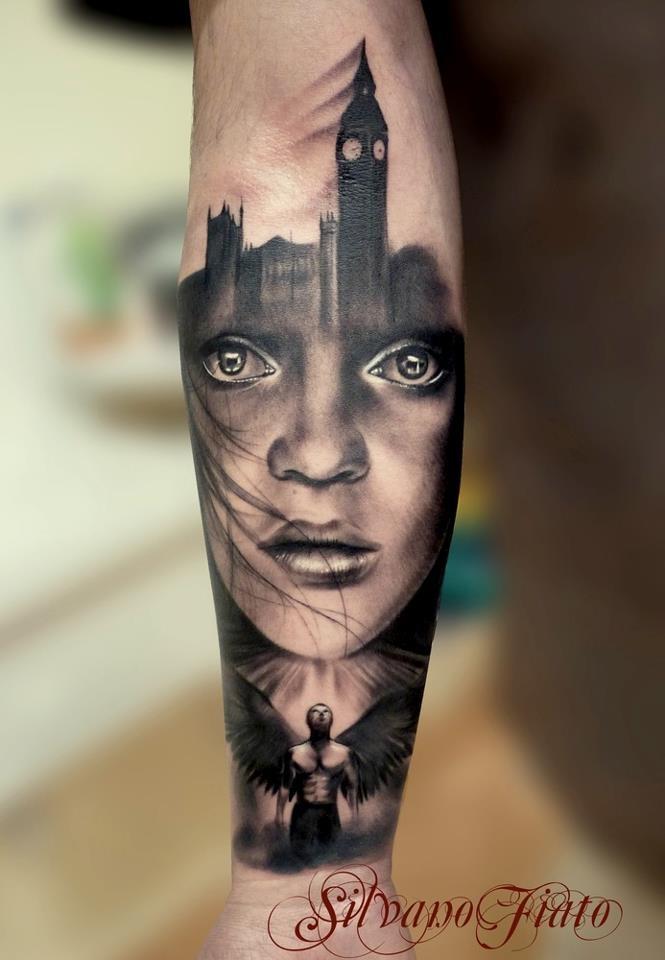Portrait tattoo design tattoo inspiration pinterest for Best realistic tattoo artists