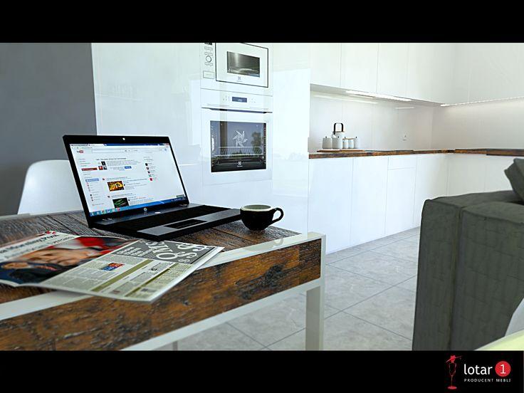 Meble kuchenne / Kitchen furtniture design / Białe meble kuchenne