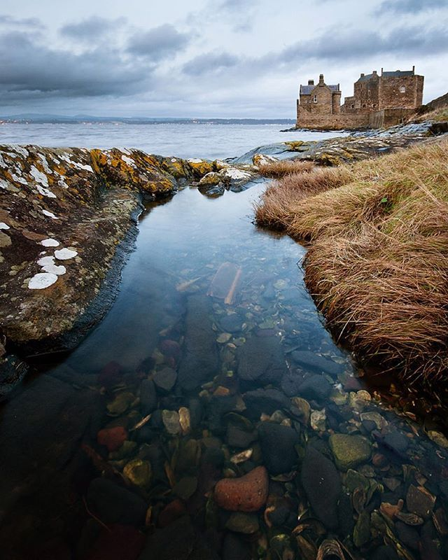 Blackness Castle Ruins, Scotland. Photograph By ©Richard