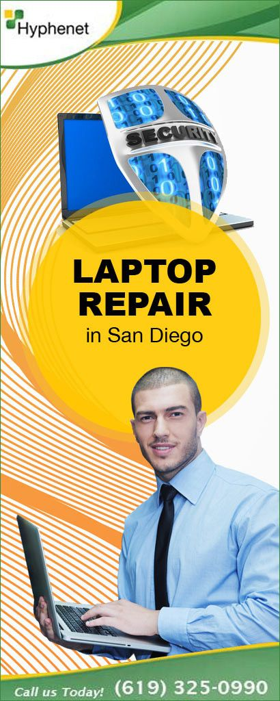 laptop repair in San Diego. At Hyphenet, we have the best laptop and computer repair services.