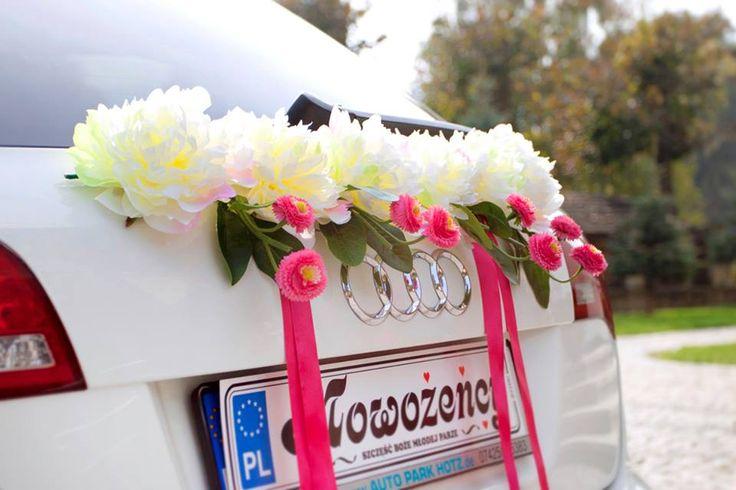 Dekoracja na samochód Pink Way
