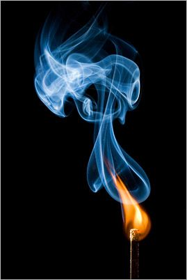 Photographing Matches, Fire, & Smoke