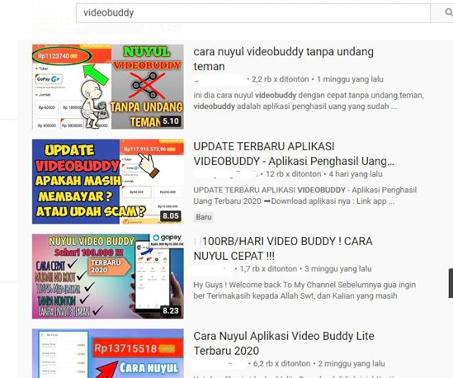 Aplikasi Videobuddy Menonton Video Bisa Dapat Uang Apa Aman Digunakan Di Ponsel Aplikasi Uang Video