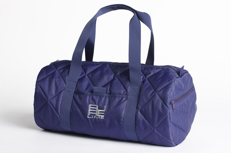 PureLime fitness shoes AW 2015 - gym bag in purple