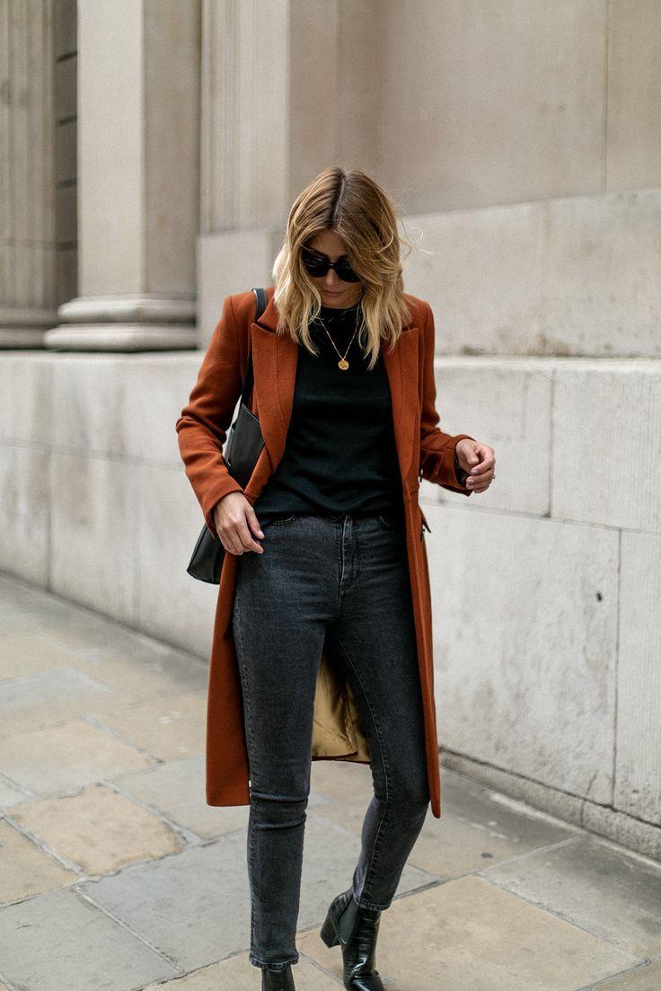 Emma Hill style. Chic Autumn outfit, fall fashion   Moda ropa de ...