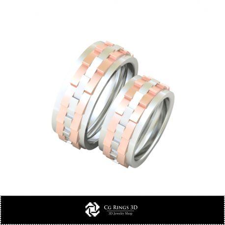3D Wedding Ring