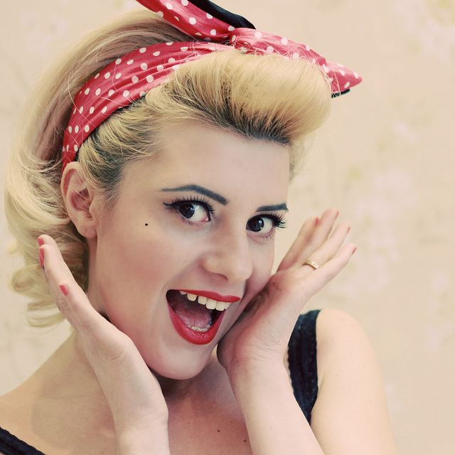 19 best Pin Up Hair Outfits& Ideas images on Pinterest | Vintage ...