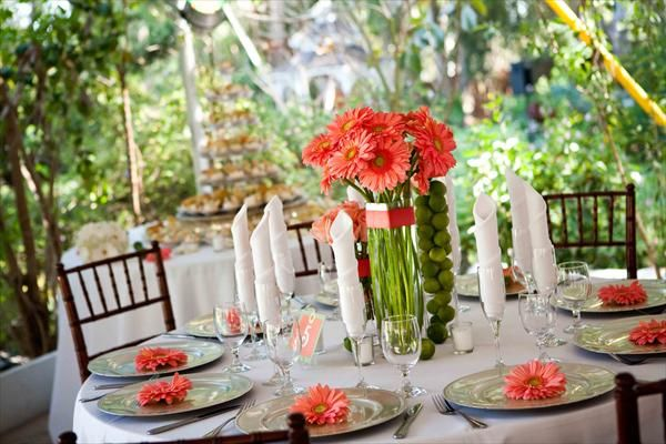 coral flowers for wedding centerpieces table decor quot amp coral quot wedding board 3062