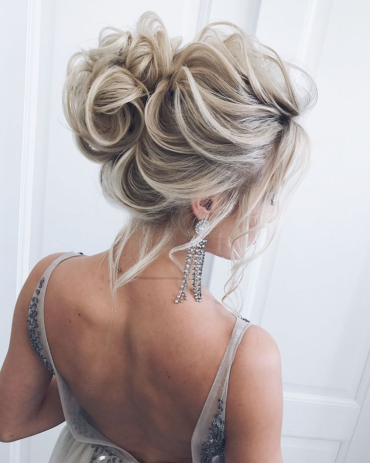 60 Long Bridesmaid Hair & Bride Hairstyles for the Wedding 2019-19