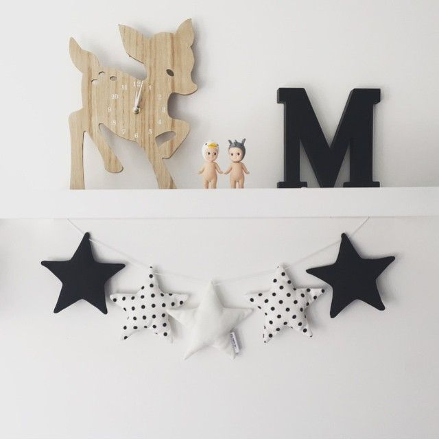 Switching up the mono combination today. This is the last of the garlands I took down to @commongroundhome today. Not sure if I like this one or the hot pink more, tough decision to pick a favourite  #commongroundhome #littlebambinobear #stargarland #australianmade #wabusinessdirectory #kidsdecor #nurserydecor #wamade #commongroundcollective #monochrome