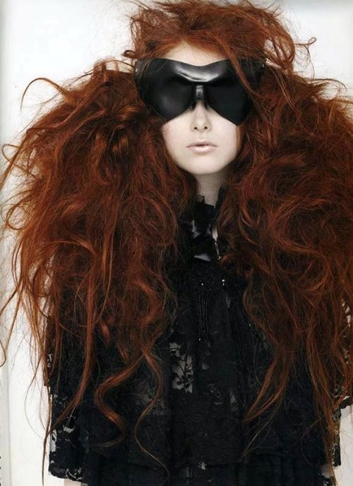 big red hair....all I have to do is wake up and my hair looks like this