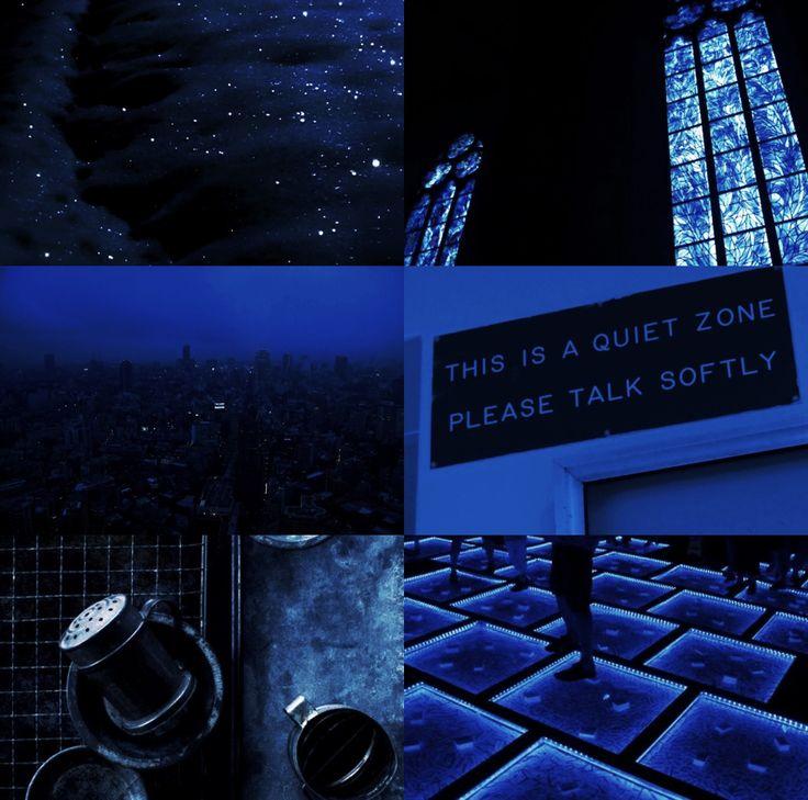 #blue #indigo aesthetic