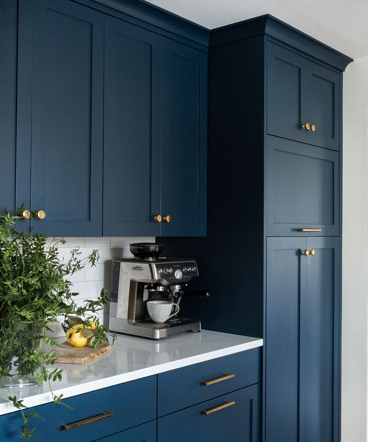 Redesign of a dated kitchen in Seattle. We went bold with ...