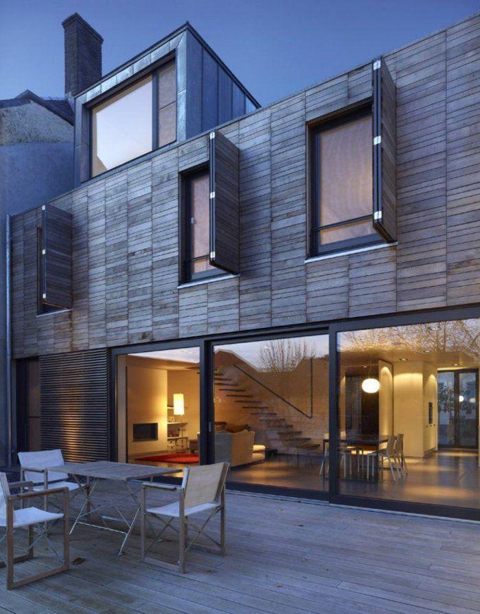 Fenetre de toit fixe lucarne extérieur moderne architecture