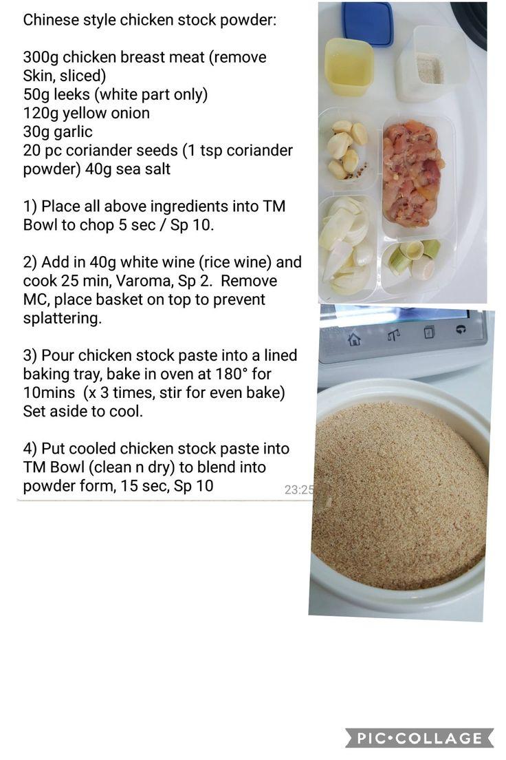 Chinese style chicken stock powder seasoning recipes