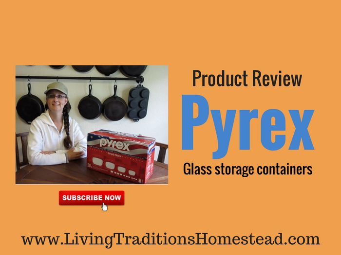 Eliminating Plastics- Best Walmart Food Storage Containers -- After becoming tired of plastic storage containers for leftovers, Sarah from Living Traditions Homestead threw them all away and switched to these.  Watch the unboxing and product review for her new favorite set of food storage containers.