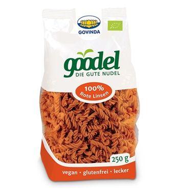 Bio goodel Nudeln 100% Rote Linsen, 250 g