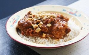 Thai Chicken Thighs (in the Slow Cooker)