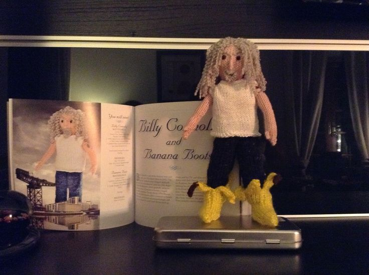Knitted Billy Connolly