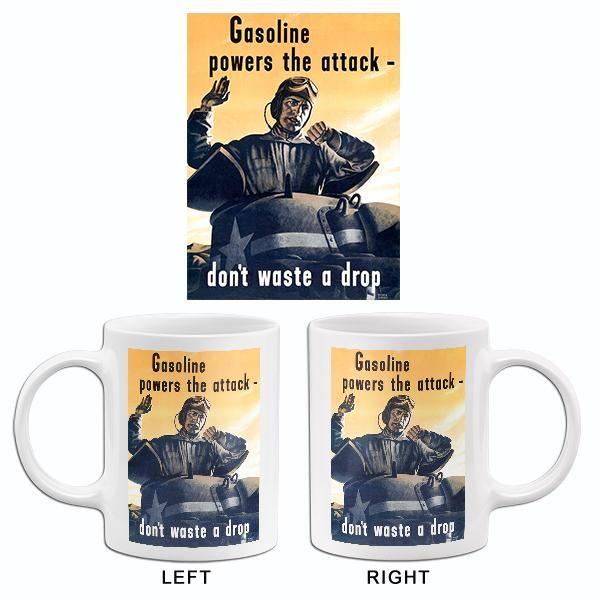 Gasoline Powers The Attack 1940 S World War Ii Propaganda