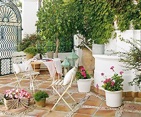 Patio andaluz cortijos andaluces casas r sticas y casas for Patios andaluces decoracion