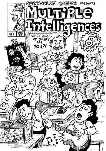 Inteligencias Múltiples explicadas en forma de comic #ccfuned #educacion #inteligenciasmultiples