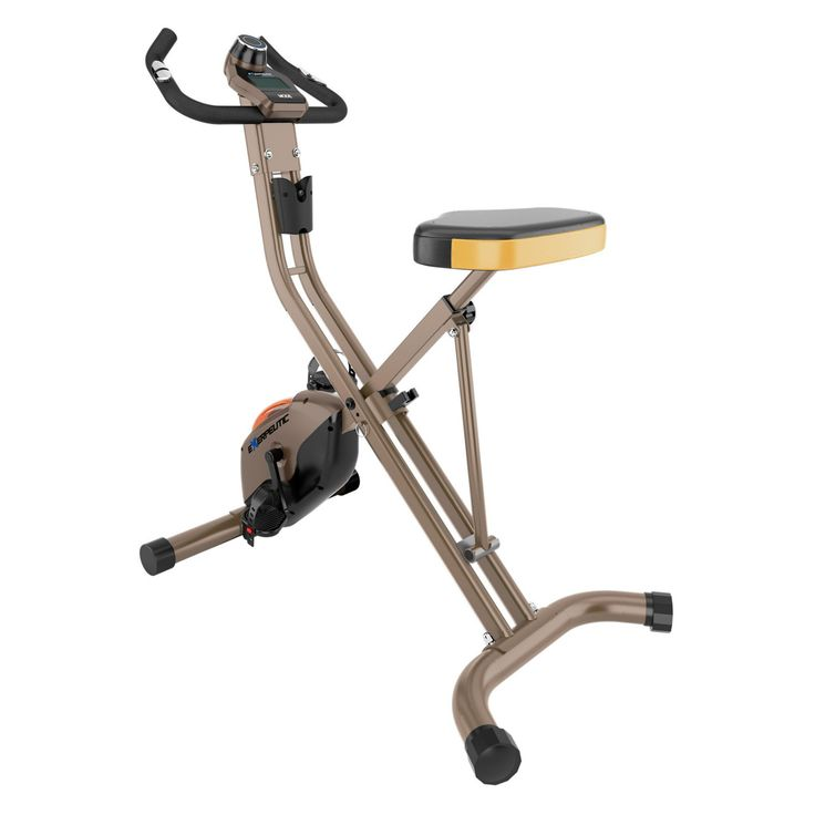 Exerpeutic 500 XLS Foldable Magnetic Upright Bike - 4100