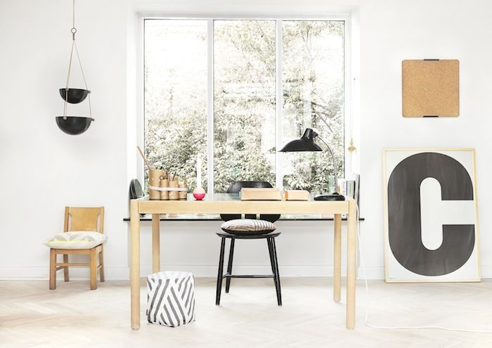 Lovely office with new designs by OYOY
