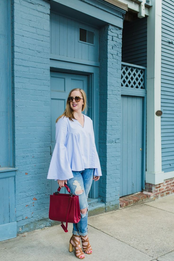 312 best my looks images on pinterest boston style fashion shopbop endless rose bell sleeve blouse style blueprint boston malvernweather Image collections
