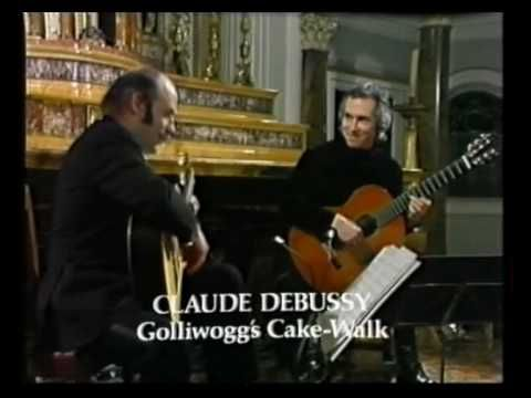 Rare Guitar Video: John Williams and Julian Bream play 2 pieces by Claude Debussy