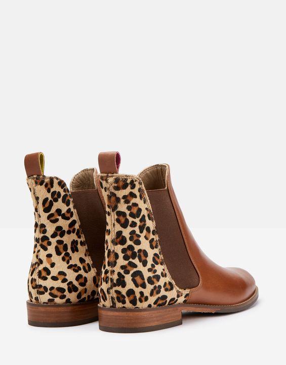 Westbourne LEOPARD Premium Chelsea Boot