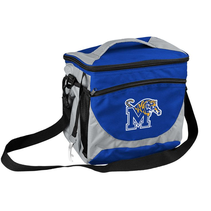 Logo Brand Memphis Tigers 24-Can Cooler, Multicolor