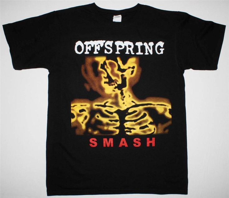 >> Click to Buy << THE OFFSPRING SMASH TOUR 2014 PUNK ROCK BAD RELIGION PENNYWISE NEW BLACK T-SHIRT Fashion Unique Classic Cotton Men T Shirt #Affiliate