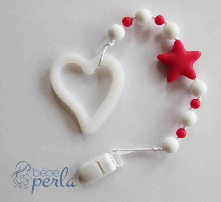 Silicone teething toy - Love on Hand Angel www.bebeperla.com