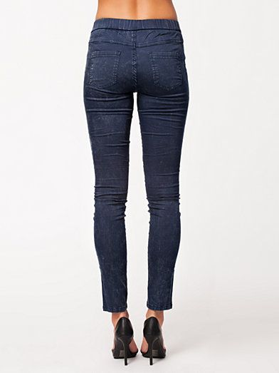 Gital Denim Leggings - Vila - Eclipse - Leggings - Kläder - Kvinna - Nelly.com